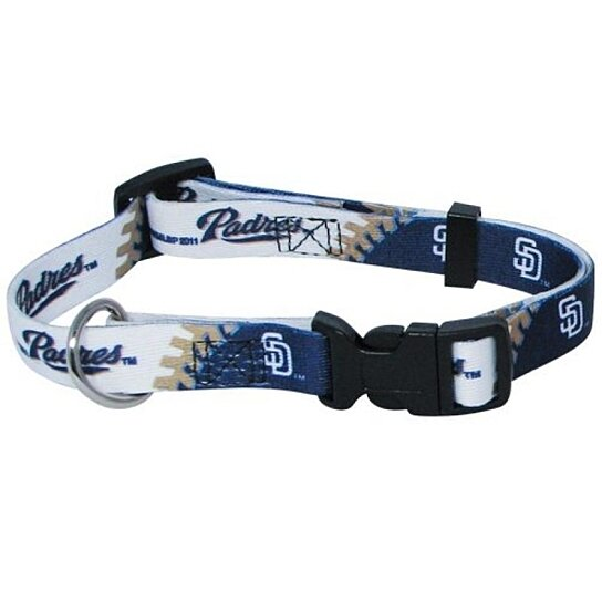 Buy Hunter Mfg San Diego Padres Dog Collar Small By