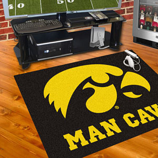 Man Cave Hair Products : Buy iowa man cave all star mat quot x by virventures on