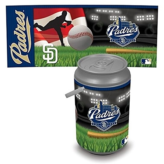 Buy Mega Can Cooler San Diego Padres Digital Print By