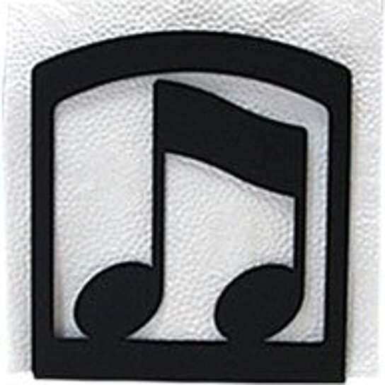 Buy music note napkin holder by virventures on opensky for Bathroom napkin holder