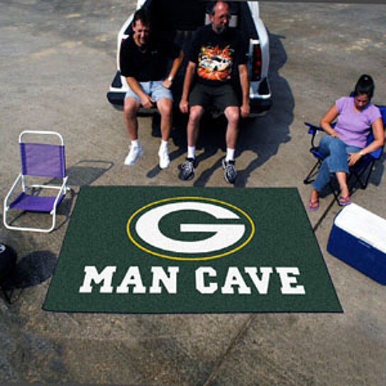 Buy Nfl Green Bay Packers Man Cave Ultimat Rug 60 X96 By Virventures On Opensky
