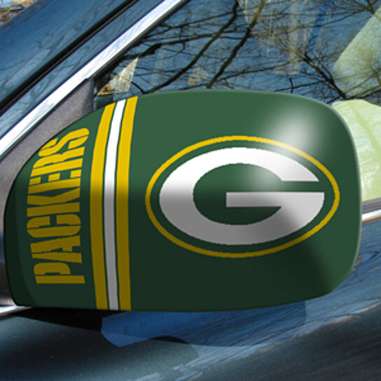 Buy Nfl Green Bay Packers Small Mirror Cover By Virventures On Opensky