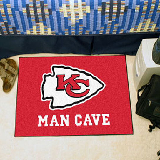 Buy Nfl Kansas City Chiefs Man Cave Starter Rug 19 Quot X30