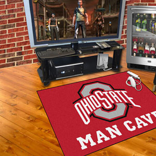 Ohio State Man Cave Furniture : Buy ohio state man cave all star mat quot x by