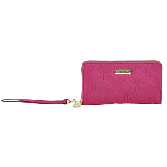 Buy Raspberry Rebel Microfiber Accordion Wristlet By Virventures On Opensky