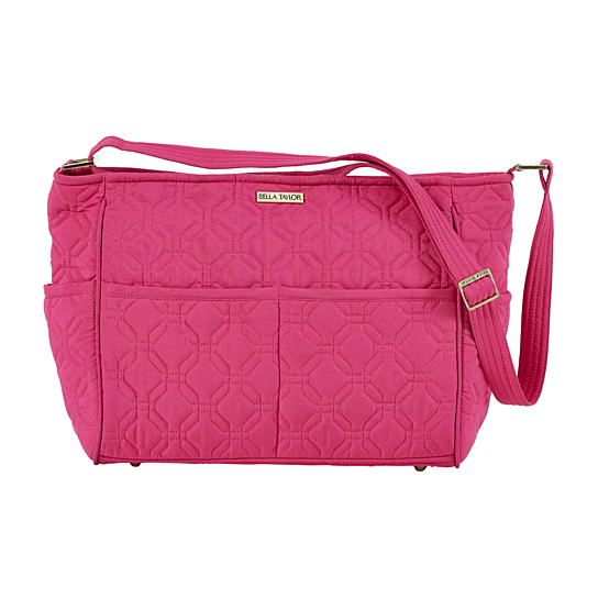 Buy Raspberry Rebel Microfiber Metro Crossbody By Virventures On Opensky