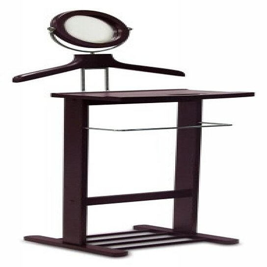 Buy Valet Stand With Mirror Open Base By VirVentures On