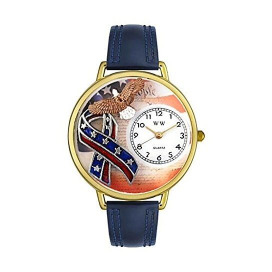 Buy whimsical watches women 39 s g1220035 unisex gold for Navy blue and gold bathroom accessories