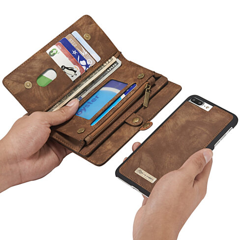 2 in 1 Secure iPhone Case With Wallet