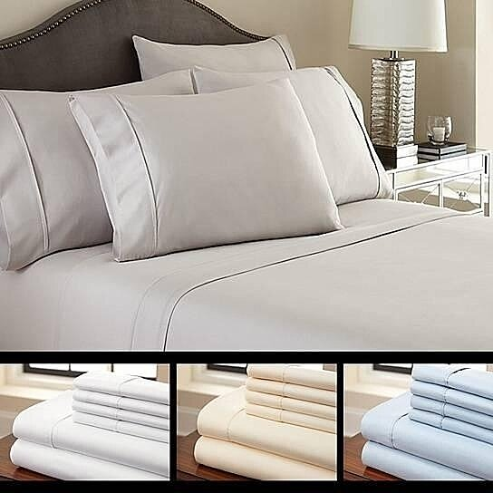 Buy 6 piece luxury soft bamboo sheet set in 12 colors by for How to buy soft sheets