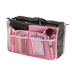 Multi-Pocket Bag and Purse Organizer Insert, Multiple Colors