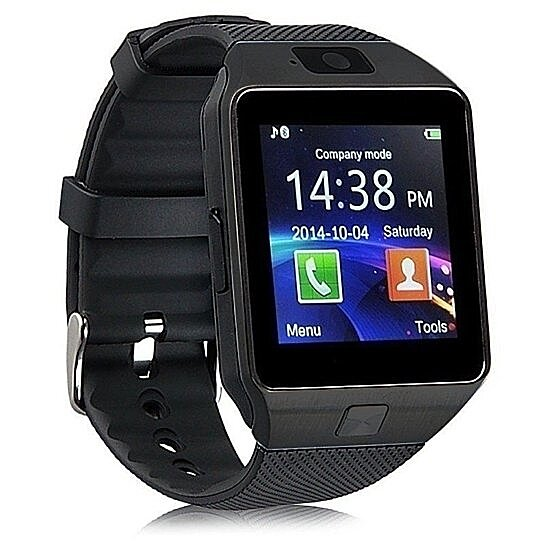 7851495c111 Trending product! This item has been added to cart 70 times in the last 24  hours. Bluetooth Smart Watch Phone + Camera SIM Card For Android ...
