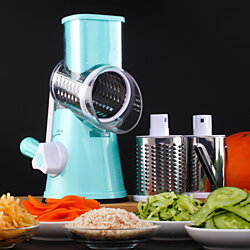 Chop Shop 3 in 1 Slice Shred And Chop Fruits Nuts And Vegetables