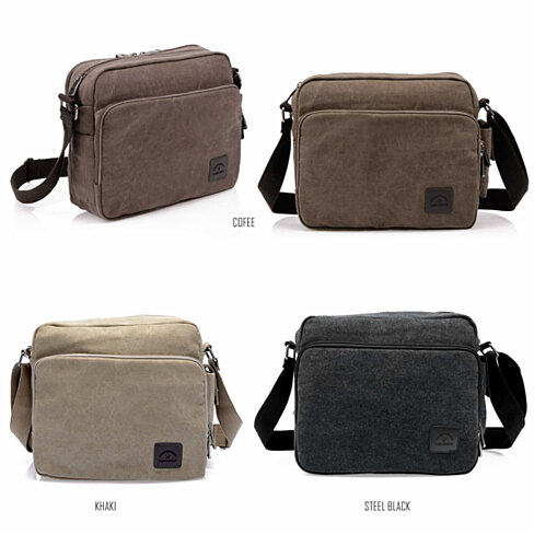 Concierge Journey Canvas Bag in 3 Colors
