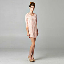 Rose Garden Luxurious Tunic Dress CAPTURE THE SPRING