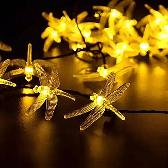 Firefly String Lights Michaels : Buy Solar-Powered Firefly LED Light String with 8 Modes by Vista Shops on OpenSky