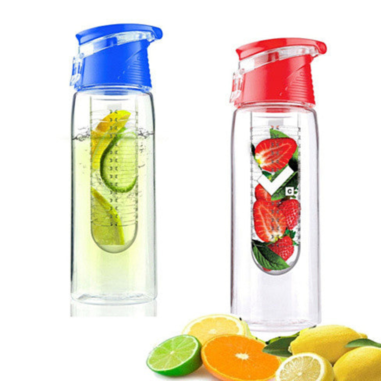 Fruit Cola Bottle A Fruit Infuser Healthy Drink Bottle - Black 54b4d254683d6fd151000116