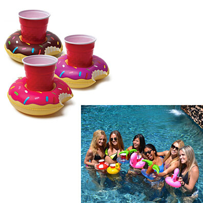 Fun Floaties Drink Holders For Your Pool Pack Of 3