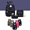3-Piece Lightweight Cotton Canvas Luggage Set in 5 Colors