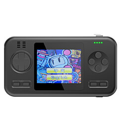 Gamebuster portable gaming console with preloaded 450 video games