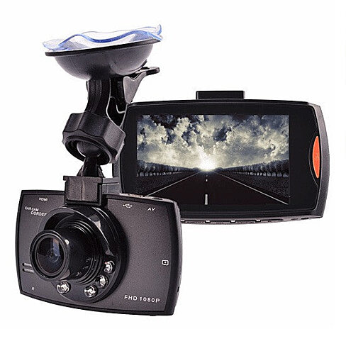 SafetyFirst HD 1080p Car Dash CamCorder with Night Vision