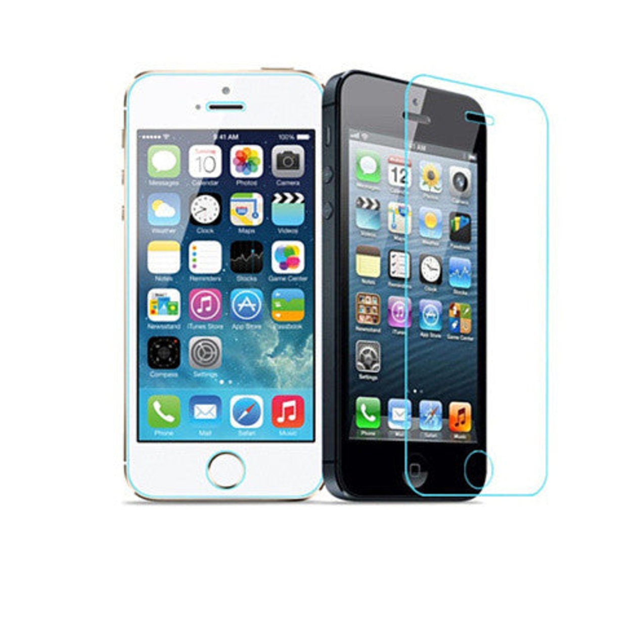 iPhone 4 /4s & 5/5s /5c Glass Screen Protector 544419794c3d6f1b1600069a