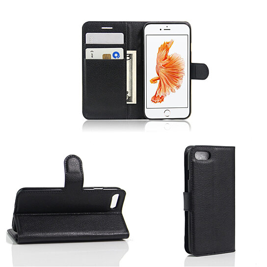 info for 63478 796c0 iPhone 7 Or 6 Solid Case With Wallet And Stand