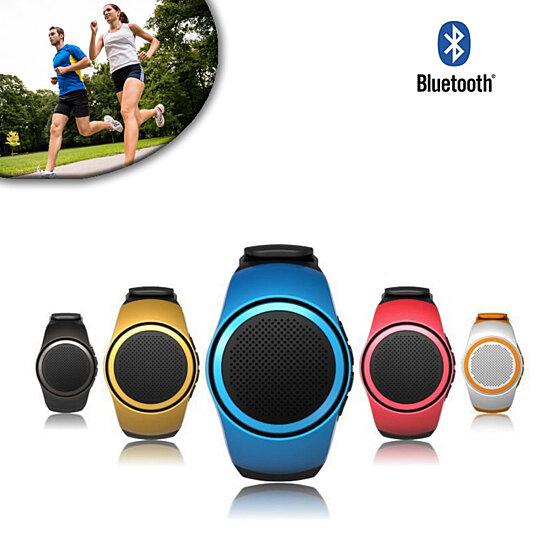 Jogging Buddy Smart Watch W/Bluetooth Speaker FM Radio And More