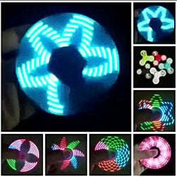 LED Gizmo Spinner With 18 Different LED Patterns In A Single Spinner