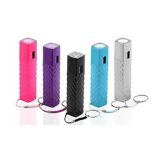 Buy Lipstick Case Style Phone Charger And Flash Light On A