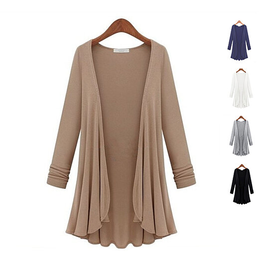 Buy Classic Draped Cardigan in 5 Colors by Vista Shops on OpenSky