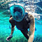 Full Face Snorkel Mask with Optional HD 1080P Action Sports Camera