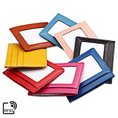 Ultra Thin RFID-Blocking Wallet in 8 Colors