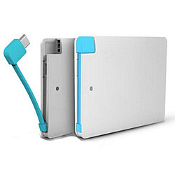 Portable Slim Pocket Charger for iPhone and Android