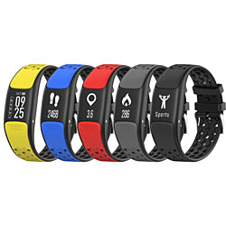 Smart Fit Sporty Waterproof Fitness Tracker Swimmers Watch With HR