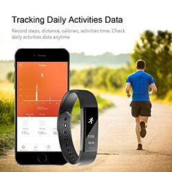 SmartFit Slim Activity Tracker & Monitor With Free Extra Band, Mult. Colors