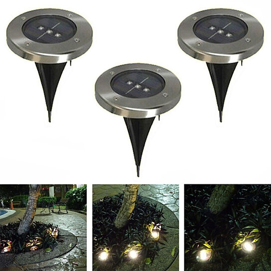 Trending Product This Item Has Been Added To Cart 86 Times In The Last 24 Hours Runway Solar 3 Led Inground Lights
