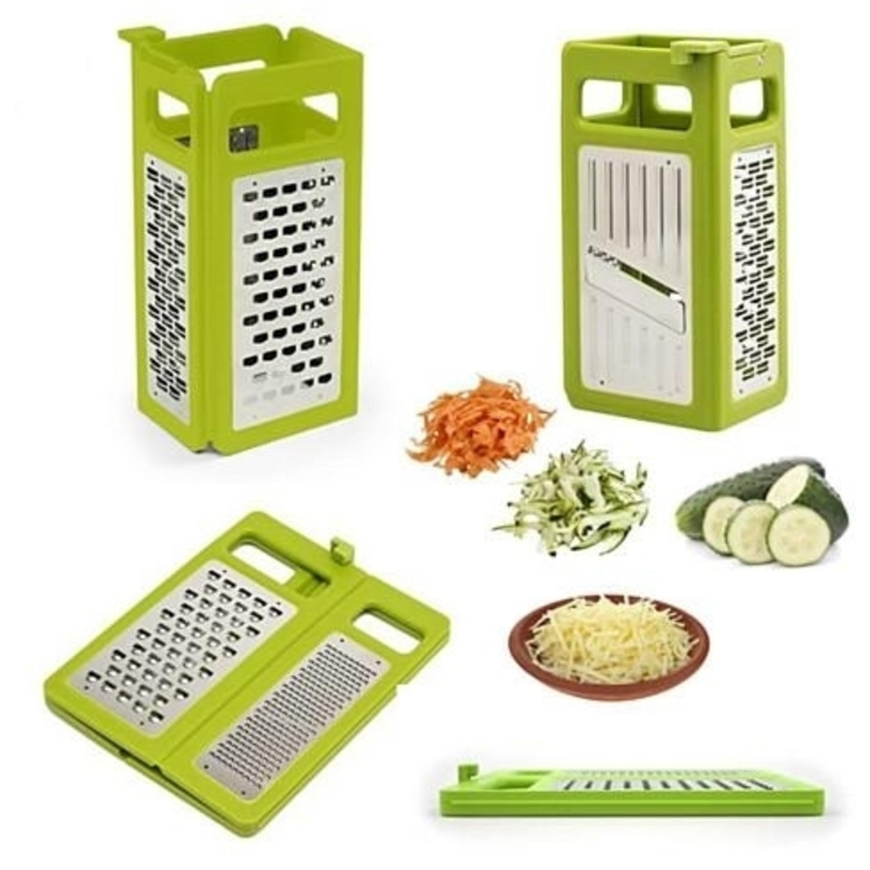 Space Saver 4 In 1 Foldable Slicer And Grater