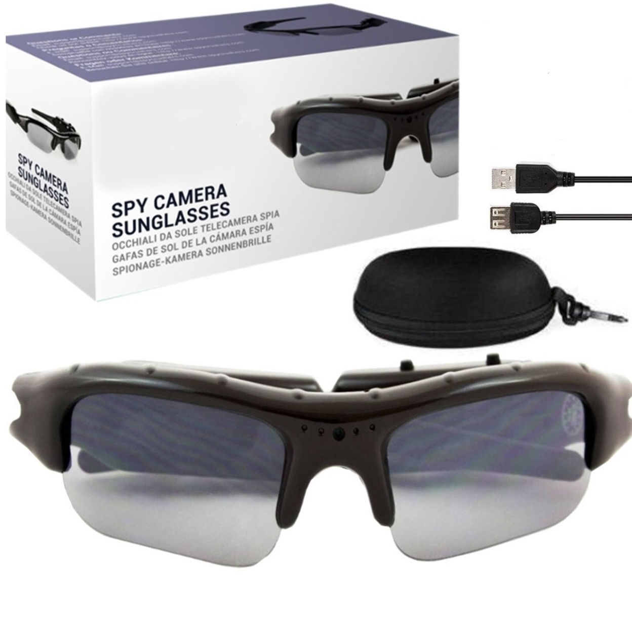 Spy Action HD Video Recording Sunglasses 59935d7f5ec7480cab206884