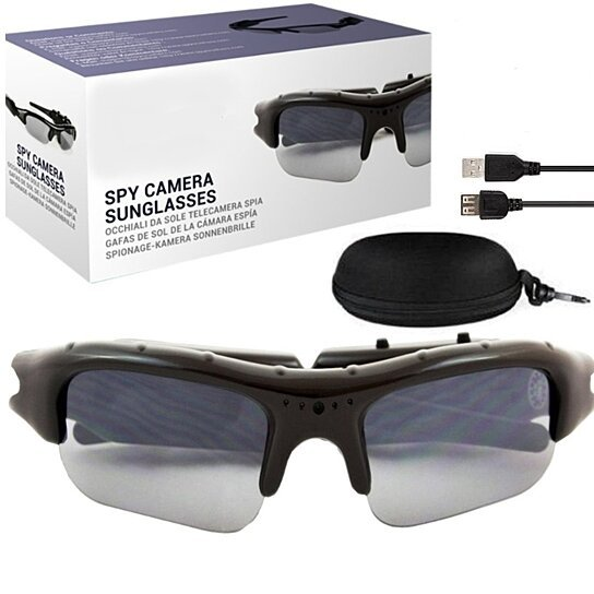 ee31fb52135 Buy Action Jackson Spy HD Video Recording Sunglasses by Vista Shops on  OpenSky
