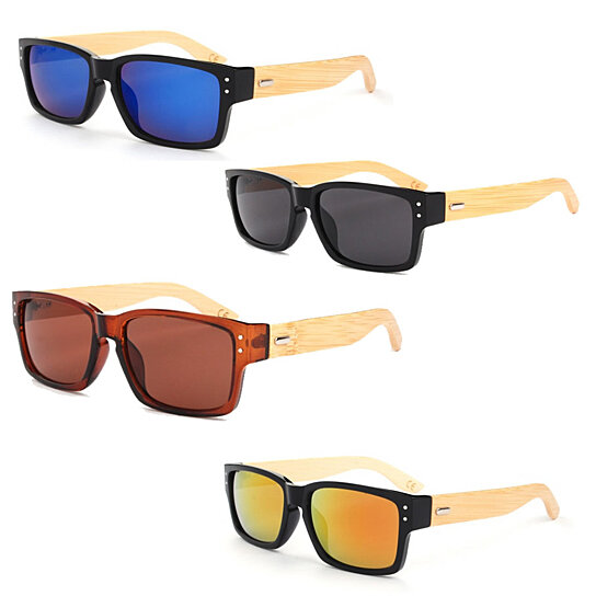 Buy Wanderlust Sunglasses 4 Eco-Friendly Shades Made From Bamboo Wood And Recycled  Plastic Material by Vista Shops on OpenSky
