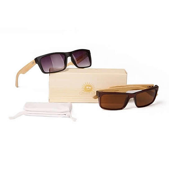 51ec7eea753e Buy Wanderlust Sunglasses 2 Eco-Friendly Shades Made From Bamboo Wood And Recycled  Plastic Material by Vista Shops on OpenSky