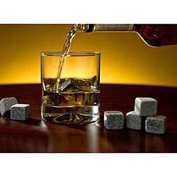 Whiskey On THE ROCKS Pure Soap Stones Set of 9