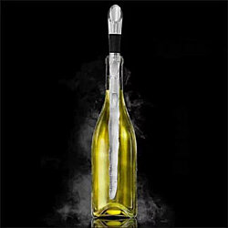 Winecicle The Wine Chiller Icicle Stick And Built-in Aerator