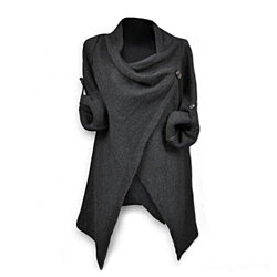 Supersoft Asymmetrical Wrap Cardigan, Multiple Colors
