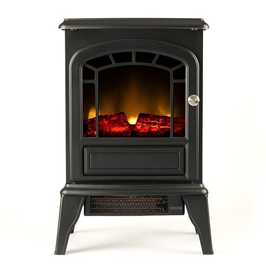Buy Aspen Free Standing Electric Fireplace Stove 23 Inch Black Portable Electric Vintage