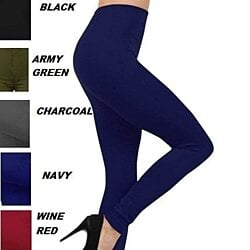 Legging Seamless Fleece Lined -Solid Color