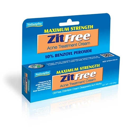 Buy Natureplex Maximum Strength Zitfree Acne Treatment Cream