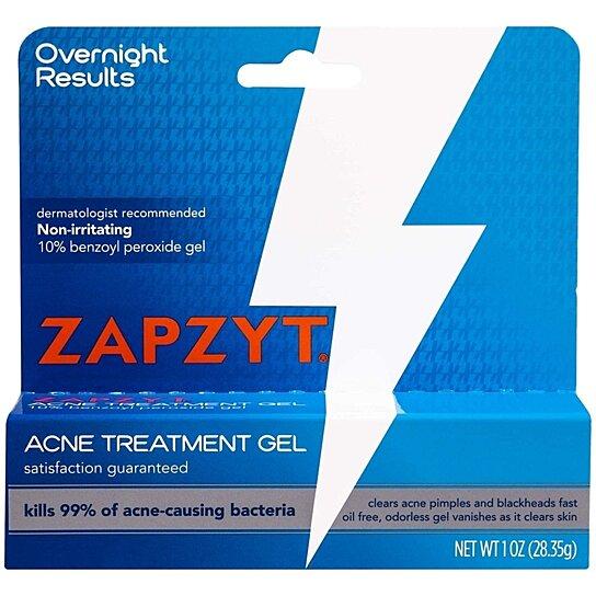 Buy Zapzyt Acne Treatment Gel 10 Benzoyl Peroxide 1 Oz By