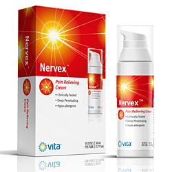 NERVEX Neuropathy Pain Relief with Arnica,  B1, B5, B6, Capsaicin, MSM. Soothe & Regenerate. Reduce Burning, Tingling, Numbness